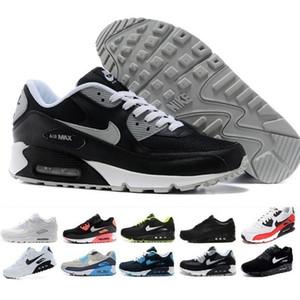 nike air max 90 airmax 2017 Scarpe da corsa di alta qualità Cuscino 90 KPU Mens Womens Classic 90 scarpe casual Sneakers da ginnastica Uomo Walking Sport tennis scarpa W485