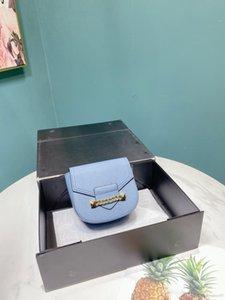 Jackspace new pure leather flip-flop mini-pig bag with one shoulder slant satchel