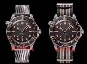 No Time to Die Luxusuhr Herren Limited Edition Skyfall Männer Meister James Bond 007 Diver 300M Uhren Marke 50th Designer Stahl-Armbanduhr