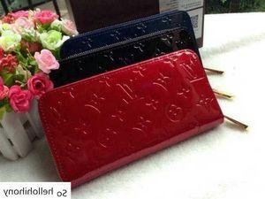 M91981 Patent Leather Zippy Wallet Women Clutch Wallets Purse Mini Clutches Exotics Evening Chain Belt Bags