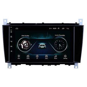 Android 9.0 Multimedia System com carro Video Player para 2004-2011 Mercedes-Benz Classe C C55 / CLC W203 / CLK Classe W209 / CLS Classe W219