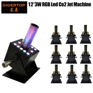 Discount Price 10 x LOT 300W DJ Machine DMX Manual Control Powerful RGB Gas Spray Column Easy Jet Angle Lockable Powercon Freeshipping