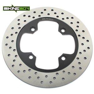 BIKINGBOY Rodada Rear Brake Disc Disco Rotor Para Bonneville 790 865 T100 Carb EFI 865 Carb EFI Thruxton 900