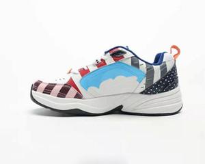 Ücretsiz kargo 2019 Parra Monarch IV M2K Tekno koşu ayakkabıları erkek kadın çok renkli Spor Ayakkabı kutusu ile
