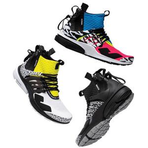 Acrónimo Presto Mid Racer Pink Running shoes para hombres envío gratis Foto Azul Negro Blanco zapatillas de deporte para hombre diseñador zapato entrenador tamaño eur 36-45