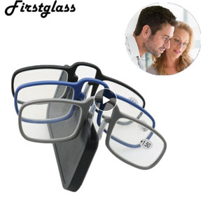 Newest Mini Sticky Reading Glasses Nose Clip on Presbyopic Glasses Men's and Women's Glass Frame Black High Quality Unisex