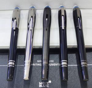 2020 High Quality-Luxury MT 14k 4810 Fountain pen transparent cap Classique black resin with serial numer
