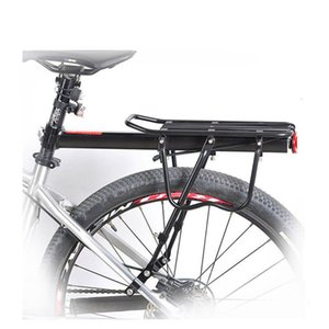 Bike Cargo Rack Bicycle Rear Rack Shelf Quick Release Luggage Carrier Cycling Seatpost Bag Holder Stand for 20-29 Inch Bikes