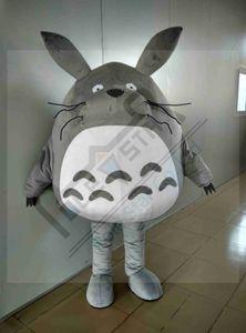 ПОЛЮС ЗВЕЗДА MASCOT COSTUME Тоторо костюмы талисмана Серая мышь КОСТЮМЫ