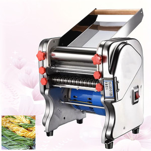 Stainless Steel Electric Pasta Maker Cutting Slicer Dumplings Noodle Pressing Machine Spaghetti Roller Hanger Dough Cutter