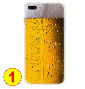 Funny phone Case For iPhone beer Vintage Tape soft Cover For Samsung GALAXY S11 S10 S8 Soft TPU Case Spoof camouflage Phone shell