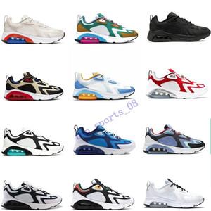 2019 DERNIER 200 Teal Bordeaux chaussures de course pour hommes mystiques vert or blanc d'or années 200S hommes Desinger Sneakers Baskets Baskets des Chaussures Homme