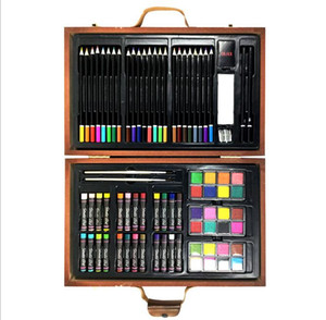 2020011058 79-Piece Deluxe Art Set Art Supplies for Drawing, Painting and More in a Compact, Portable Case - Makes a Great Gift for Beginner