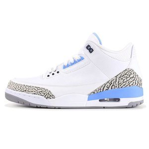 2020 New 3 3S Multicolor Rainbow Denim Mens Basketball Shoes Top Quality Sports Sneakers Jeans Trainers Jumpman Baskets Des Chaussures#602