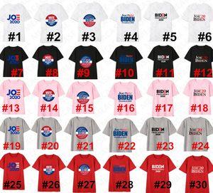 Joe Biden 2020 los EE.UU. Elección letra de molde t-shirt camiseta unisex de las mujeres de los hombres de verano de manga corta suéter superior del O-cuello Casual D7209 Deportes