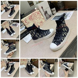 xshfbcl 19SS oblique high-top sneakers Homme By Kim Jones Ms. designer fashion boots Ace black sneakers ladies coach shoes