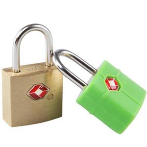 Großhandel Outdoor Reisegepäck Koffer Mini Messing Vorhängeschloss TSA Zollschloss Reise Travel Lock Türschlösser Sicherheit Koffer Schlösser BH0357