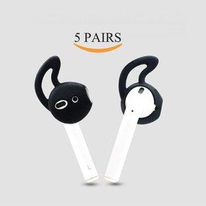 الأذن السنانير والأغطية اكسسوارات متوافقة لأبل AirPods لEarPods سماعات / سماعات / سماعات الأذن المضادة للسقوط الحالات سماعة واقية