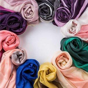 Дамы весна осень шарф шеи леди Классическая тонкие шали хиджабы фуляр высокого качества écharpe люксусный Новая мода