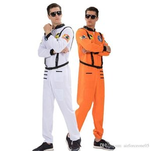 Clothes With Belt Halloween and Fancy Dress Party Clothes Fashion Homme Stage Wear Astronauts Mens Cosplay