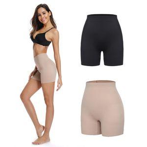 Donne Mutandine Intimo Seamless morbida mutande di sicurezza Pantaloni corti Boyshort Boxer Briefs Femme Slim Shapewear Knicker Pantaloni Y200425