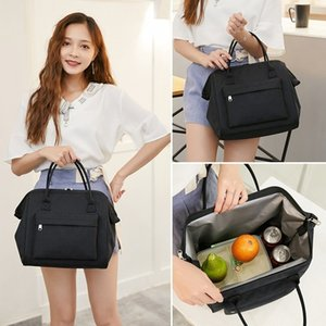 Eco Waterproof Oxford Tote Lunch Bags For Women Thermal Insulation Lunch Bag Sac A Main Women Lunch Box Bag Food Bags Lonchera Y200429