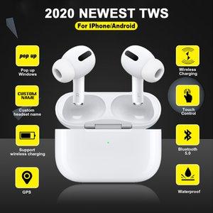 Airs 3 Pro TWS Fone de ouvido Bluetooth Air verdadeira sem fio Earbuds Esporte Headphones para iPhone 11 Pk Android i9000 i90000 max