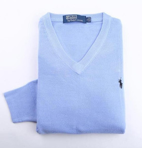 homens pulôver Ralph designe camisola polo mens V-neck designe jumper de pônei padrão marca camisola moda cor sólida