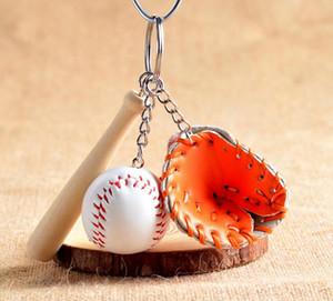Neue Baseball Keychain Tasche Anhänger Schlüsselanhänger Baseball Fan Liefert Geschenk Sport Souvenirs Schlüsselanhänger Epacket Schiff