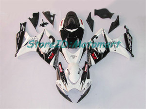 ABS Fairing set for SUZUKI GSXR600 750 2006 2007 GSXR 600 GSXR 750 K6 06 07 gloss black Fairings kit gifts Sp04