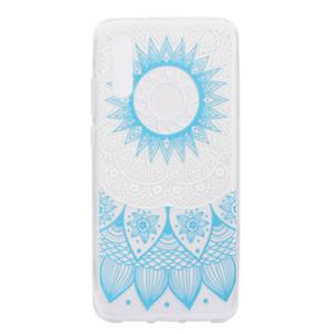 화웨이 P20 / P20 Lite / P20 Pro 케이스 색상 장식 타워 자전거 나비 소녀 디자인을위한 투명 소프트 TPU 휴대 전화 케이스 커버