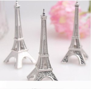 100 pc dividono Wedding favore Holder Eiffel Tower Place Carta all'ingrosso DHL Fedex di trasporto