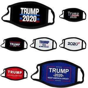 Дизайнер Trump Face Mask моющийся Luxury Анти Dust Face эр пыле езда Спорт Anti-л Многоразовый Рот Ice Шелковый M # 946