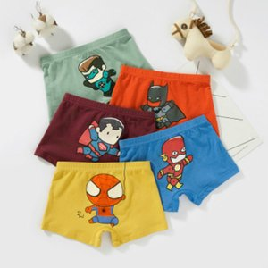 2020 Baby Kids Designer Underwear Boys Girls Fashion Cartoon Boxers Briefs Brand Printed Cartoon Baby Shorts Boxers Children Luxury Panties