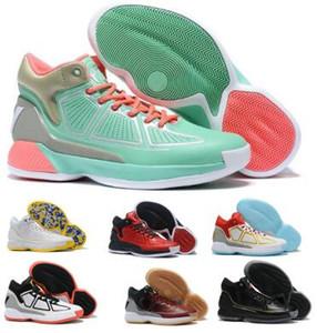 D Gül 10 10s Basketbol Ayakkabı Sneakers Derrick Rose X 10 MVP Çıkma Kahverengi Yüksek SMAN Erkekler 2020 Yeni Geliş Boots Eğitmenler Ayakkabı