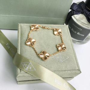 Kadınların düğün hediyesi takı Ücretsiz Kargo PS7271 için kaplama 18k gerçek altın S925 Gümüş çiçek kolye bilezik kolye küpe