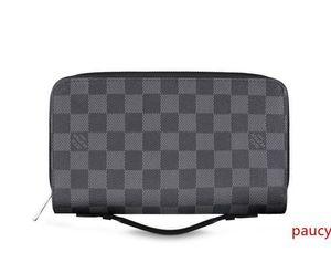 Xl Zippy Wallet N41503 Men Belt Bags Exotic Leather Bags Iconic Bags Clutches Portfolio Wallets Purse