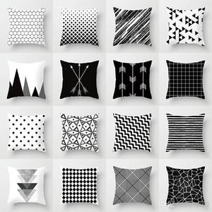 Geometrische Abstrakte Farbe Serie Digitaldruck Kissenbezug Kinder Kissen Kissen Schöne Student House Fahrzeug Verwenden Kissenbezug 4 2zh A1