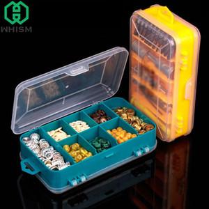 Parti WHISM Double Side Toolbox elettronico degli strumenti di plastica Scrigno Trasparente Jewelry vite Component Storage Box Bead Organizer