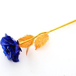 Gold Foil Rose Valentine'S Day Birthday Gift Single