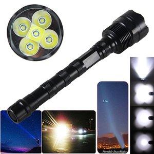 VastFire 10000LM 5X XML T6 LED Camping Licht-Fackel Nein Batterie-Beleuchtung VastFire 10000LM 5X XML T6 LED Jagd Camping Gun-Licht-Fackel keine Batte