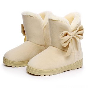 Ladies Shoes Winter Shoes Woman Ankle Warm Snow Outdoor Antislip Flats Girls Boots Walking Boots Footwear botas mujer