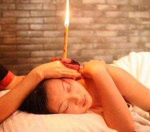 Atacado de alta qualidade aromaterapia ouvido vela saúde produto de beleza trompete Cone orelha vela (1000pcs / lot = 500pair)