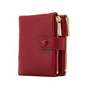 Double Zipper fashion PU Wallet Women Hasp Small Wallets Wallets Purse Female Card Holder Coin Short008