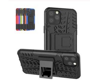 Чехол на образец шины для iPhone 11 12 Mini Pro Max Anti-Shock не скользящий прочный гибридный подставку для iPhone X XS XR 6 7 8 плюс защита