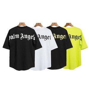 2020 New ANGES marée Beauté papillon PALM impression ANGES PA lâche hommes T-shirt manches courtes col rond sport décontracté et les femmes 06 01