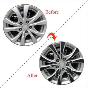 "16"" RimPrints Wheel& Rim 3D Carbon Fiber Vinyl Decal Stickers For SUZUKI S Cross 2017 Car-styling"