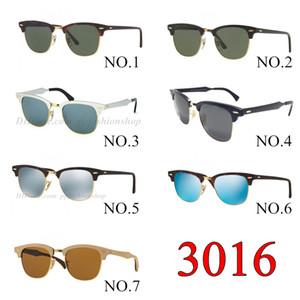 3016 clube mester Marca Designer Eyewear uv400 Goggle Homens Mulheres Motorista Óculos clássico de condução unisex eyewear