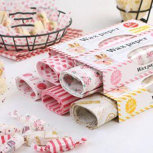 Papel de embalaje Sandwich Turrón Papeles de embalaje para hornear Creativo Envoltorio de muchos estilos Rollo de conejo blanco Venta caliente 4 2 cm p1