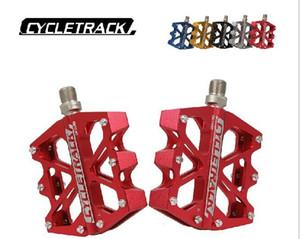 CK-028 سبائك الألومنيوم دواسة خفيفة للغاية لدواسات الدراجة الطريق MTB واسعة دواسة تحمل ستة Peilin